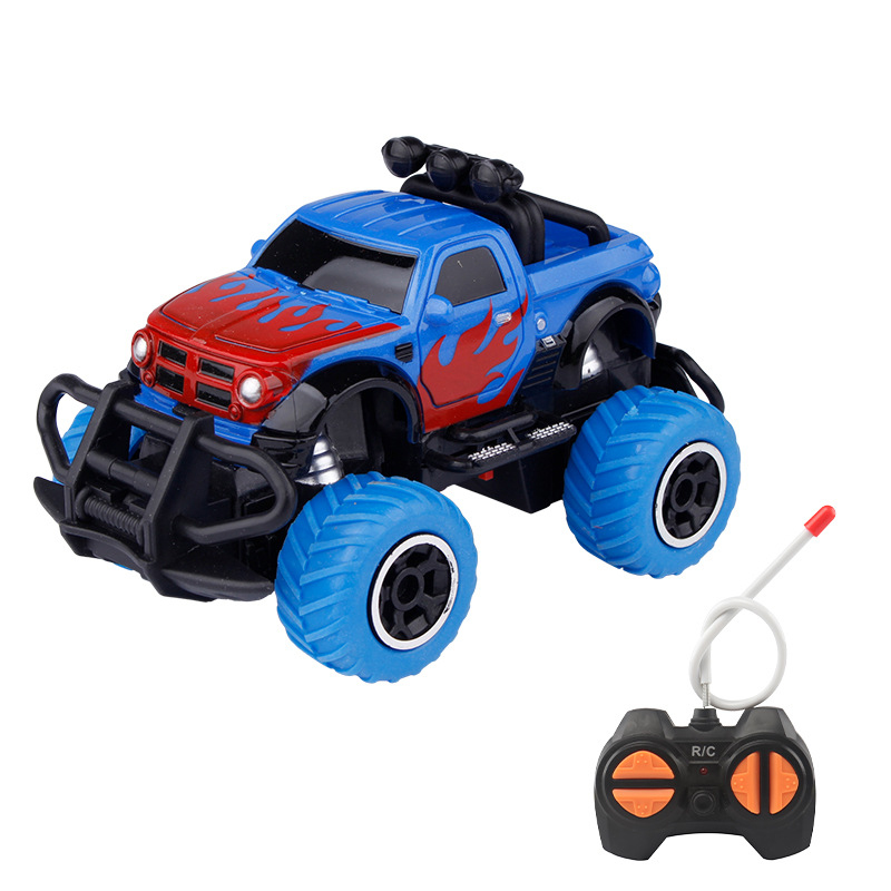 Children's Toy Car Four-Way Wireless Remote Control Off-Road Car Model 1:43 Graffiti Resistant To Fall And Fall Boy Kids Toy