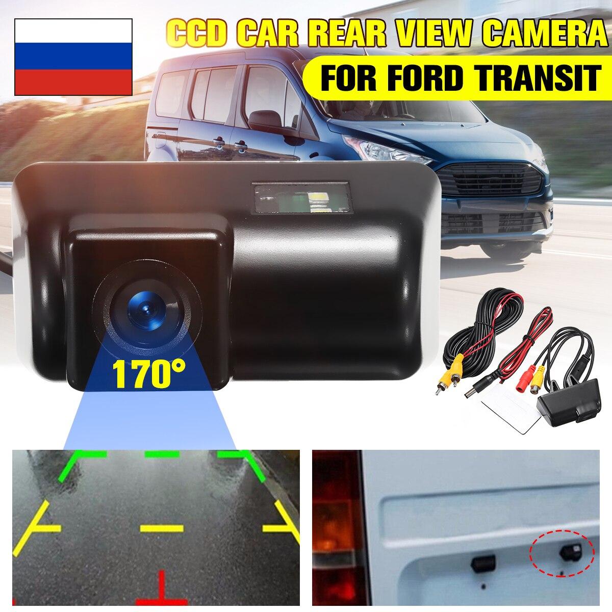HD CCD Auto Auto Reverse Rückansicht Kamera Kennzeichen Wasserdichte Parkplatz für Ford Transit/Transit Connect Alle Jahre modelle
