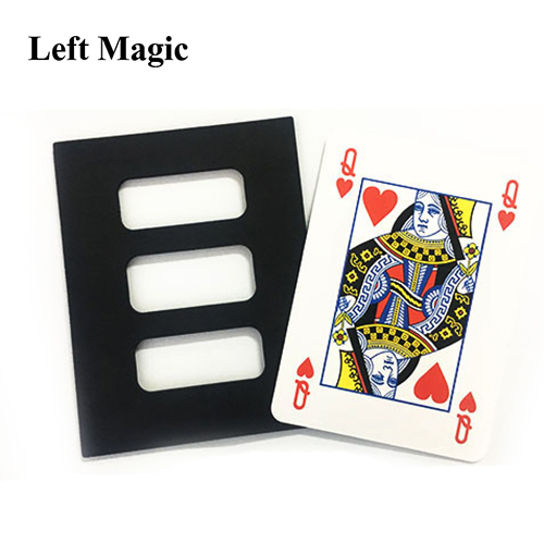 Jumbo Zig Zag Card Magic Tricks Jumbo Poker Card Cut And Restore Magia Magician Stage Gimmick Prop Metalism Classic Toys Fun