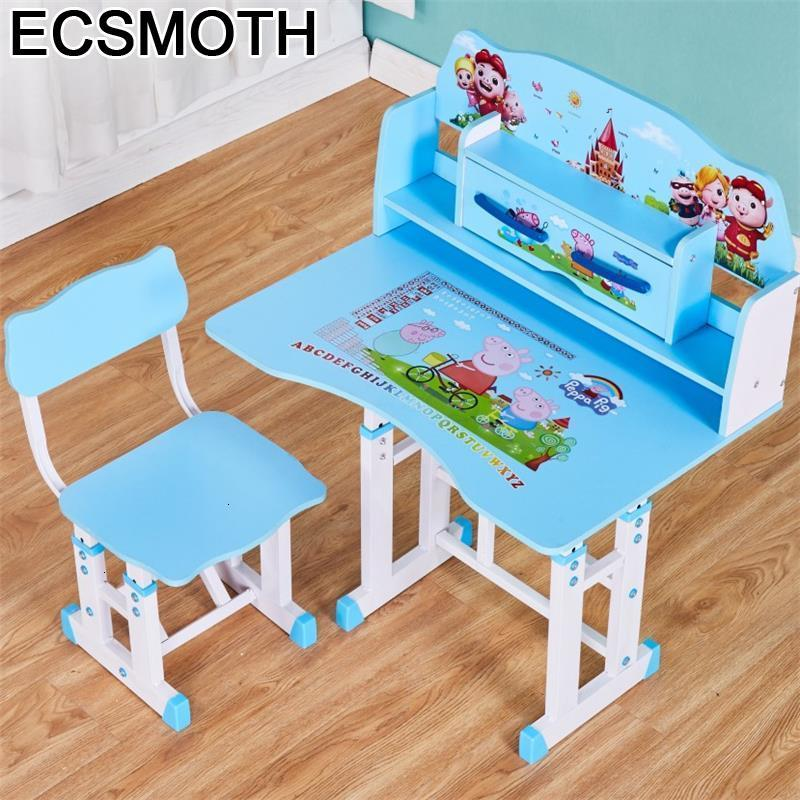 Escritorio Cocuk Masasi Baby Scrivania Bambini Desk Pour Adjustable Mesa Infantil Kinder Bureau Enfant Study Table For Kids