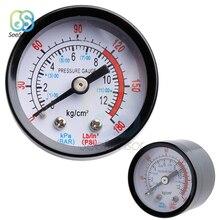 0-12Bar / 0-180PSI 1/8 BSP Thread Air Compressor Pneumatic Hydraulic Fluid Pressure Gauge Meter