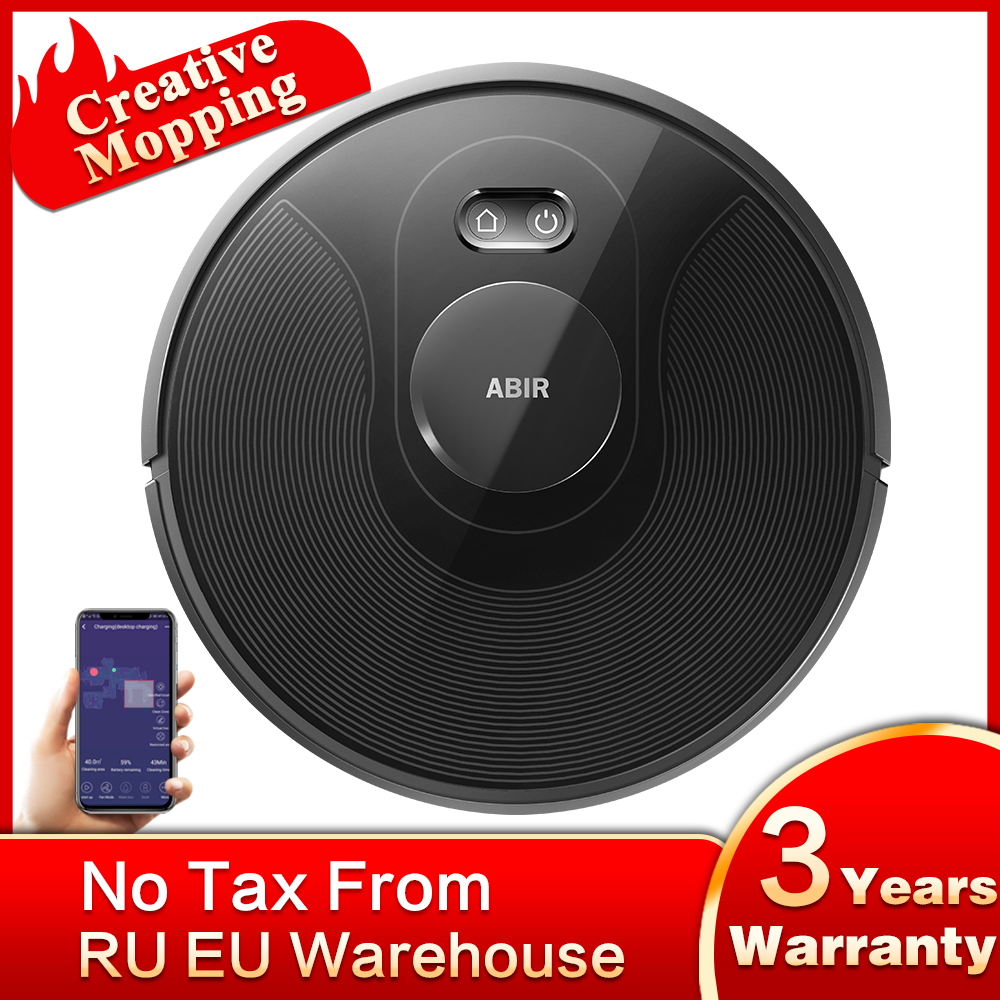 ABIR X8 Vacuum Cleaner Robot,Laser System, Multiple Floors Maps, Zone Cleaning, Restricted...