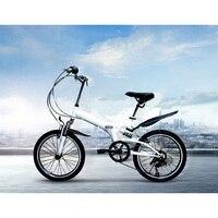 NORWICH 20 pollici 6speed City Sport Bicicletta Pieghevole Doppia V Barke