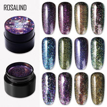 Rosalind Gel Cat Kuku Neao Bunglon Lukisan UV LED Base Top Coat Nail Gel untuk Nail Art Set Manicure Gel pernis(China)