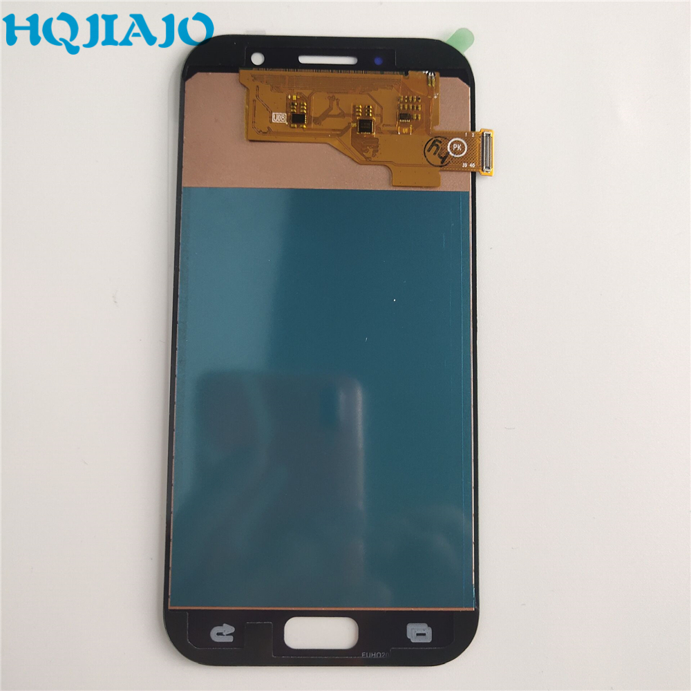 high quality LCD Screen For <font><b>Samsung</b></font> Galaxy A5 2017 <font><b>A520F</b></font> A520K Touch Screen Digitizer LCD Display For <font><b>Samsung</b></font> A520 Assembly image