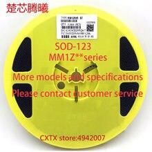 Chuxintengxi mm1z47 47 v 6b mm1z43 43 v 6a mm1z39 39 v 5z sod-123 mais modelos e especificações, entre em contato com o serviço ao cliente