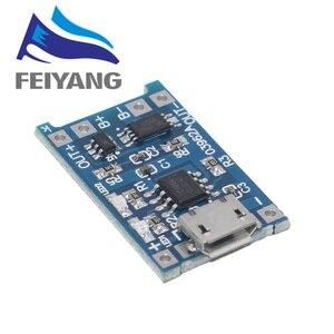 Image 5 - 100Pcs מיקרו USB 5V 1A 18650 TP4056 ליתיום סוללה מטען מודול טעינת לוח עם הגנה כפולה פונקציות 1A ליתיום