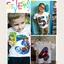 Avengers Number Kids T-shirts Superhero