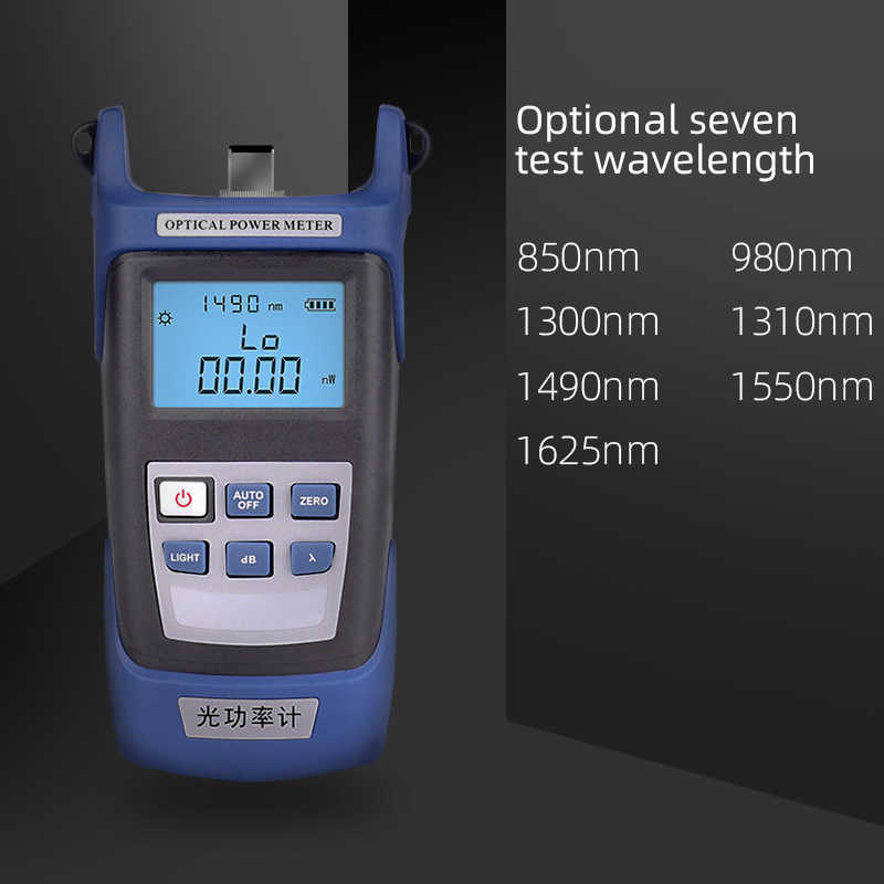 Onti Glasvezel Tool Kit Fc/Sc Connector Vfl Opm Optische Power Meter Laser Bron En Visual Fault Locator 1/10/20/30 Mw 5-30Km