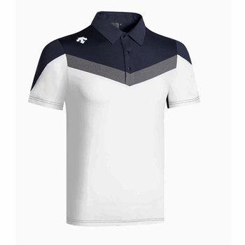 Nowe krótkie rękawy koszulka golfowa letnie ubrania z daszkiem sportowe na świeżym powietrzu mężczyzna T-Shirt do golfa darmowa wysyłka tanie i dobre opinie Cooyute Poliester COTTON Pełna Przeciwzmarszczkowy Oddychające Anty-pilling Koszule DESCENTE Pasuje mniejszy niż zwykle proszę sprawdzić ten sklep jest dobór informacji