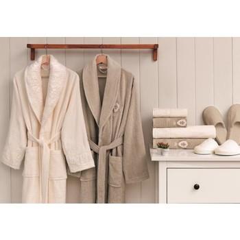 Özdilek zestaw ubrań dla rodziny weselnej krem-kamień tanie i dobre opinie Ozdikek TR (pochodzenie)