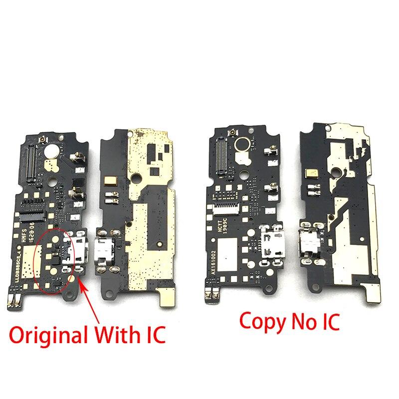 Puerto de carga USB, conector de clavija de carga, Cable flexible para Xiaomi Redmi Note 4 MTK Helio X20 Versión Global Lenovo A6 nota 3GB 32GB MTK P22 Octa Core Smartphone Dual a las cámaras de 19,5: 9 6,09