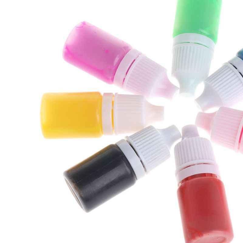 Resina de cola epoxy pigmento diy artesanal jóias fazendo corante cor uv líquido artesanato ferramentas