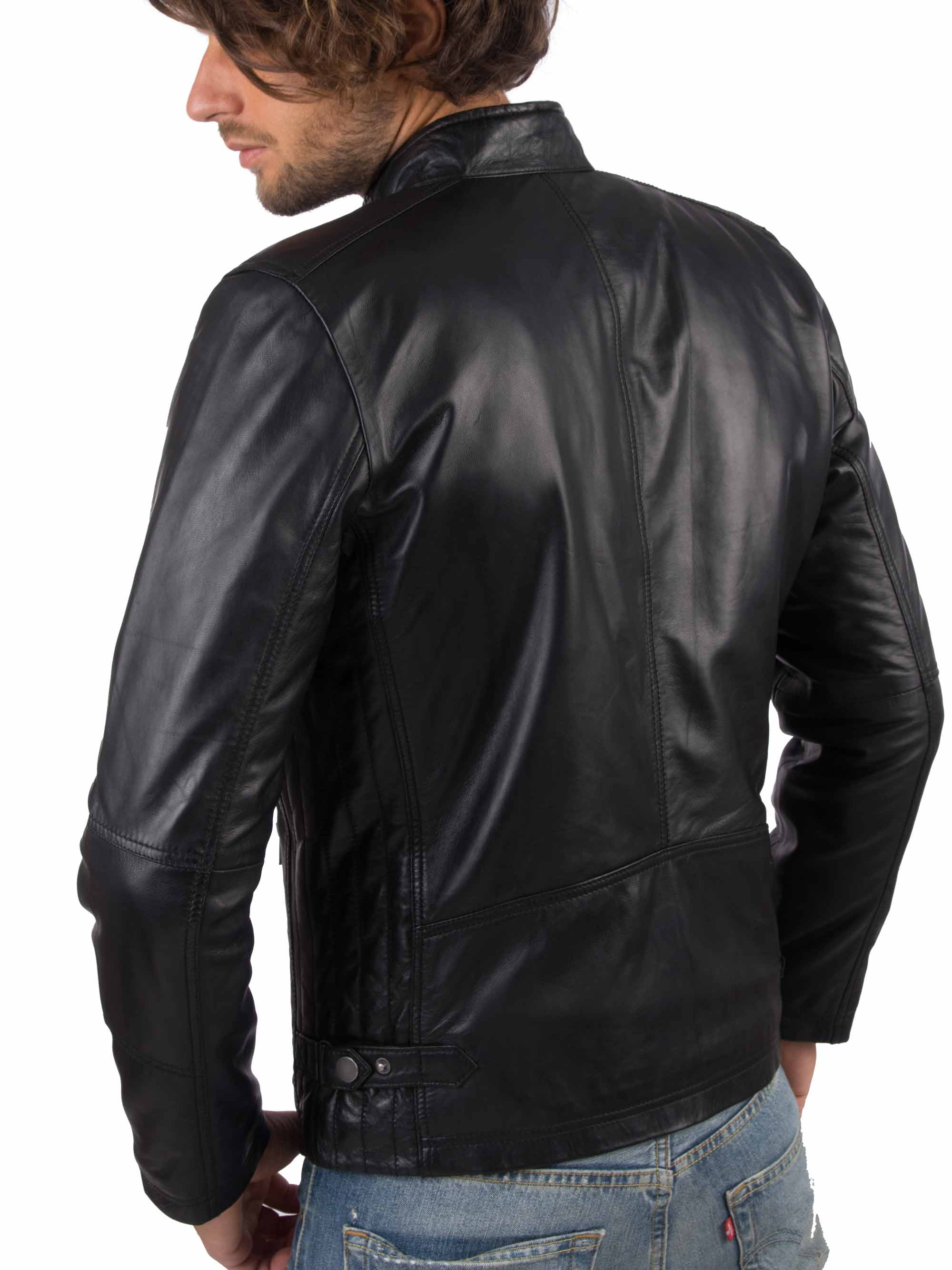 H973a712e84234f6cb6d2923499b4ade5Y VAINAS European Brand Mens Genuine Leather jacket for men Winter Real sheep leather jacket Motorcycle jackets Biker jackets Alfa