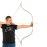 25/30/35l/40lbs toparchery Traditional Recurve Bow Archery Bow for Target Shooting Outdoor Practice
