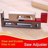 Table Saw Slot Adjuster Mortise and Tenon Tool Movable Measuring Block Tenon Maker Length Compensation Router Table Set