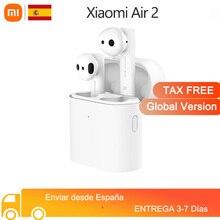 Xiaomi-auriculares inalámbricos Airdots Pro Air 2 Mi, cascos con Bluetooth 5,0, reducción de ruido y Control táctil, micrófono Dual