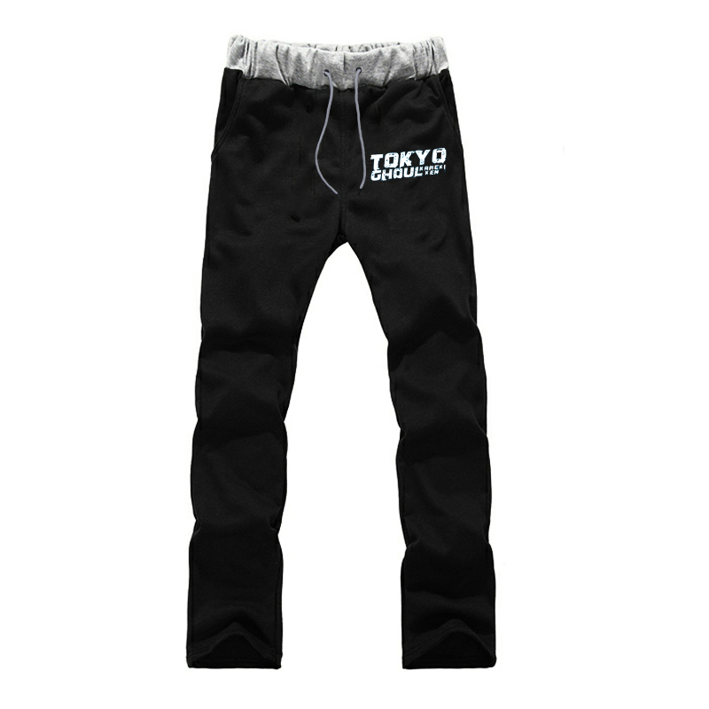Men's Harajuku Sports Pants Tokyo Ghoul Printing Streetwear Sweatpants Teenager Boys Casual Fitness Joggers Workout Trousers