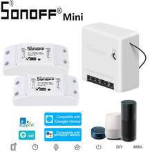 SONOFF Basic And Mini Wifi Smart Switch For Alexa Google Home Timer Wireless Vioce Remote Switch Smart Home Automation Modul(China)