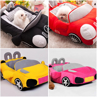 Fashion Super Cool Sports Car Shaped Pet Dog Bed Sofa House for Chihuahua Yorkshire Dog Cat Dog Accessories Fast Shipping