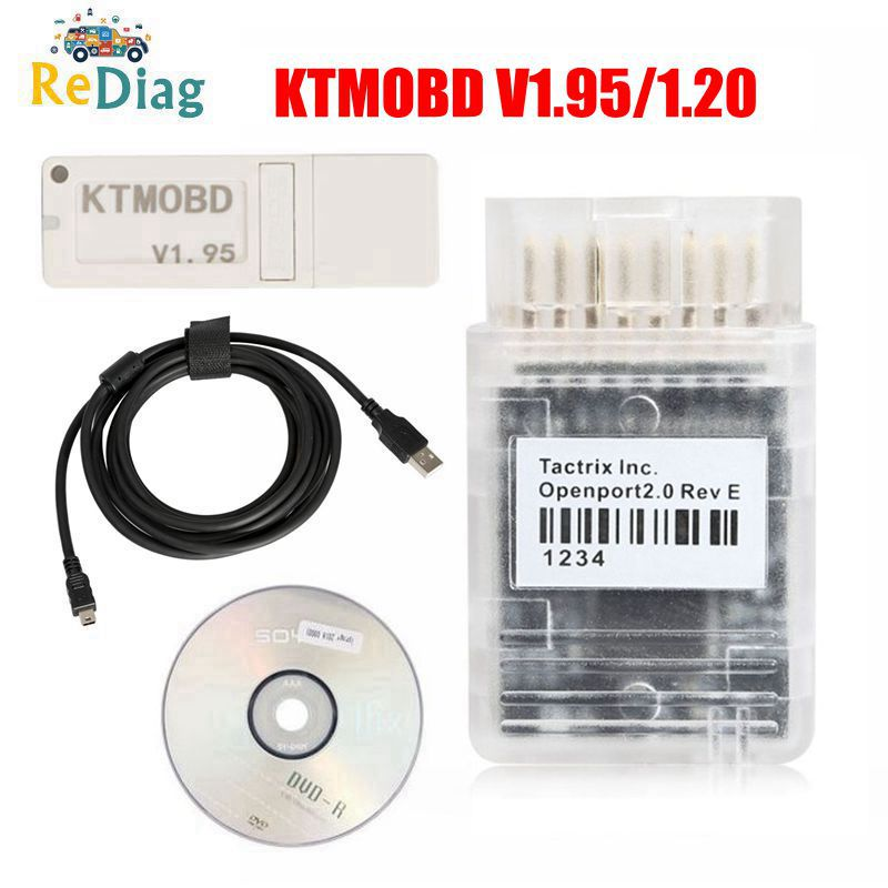 Best Price V1.95 New V1.20 KTMOBD ECU Programmer & Gearbox Power Upgrade Tool Plug And Play Via OBD With Openport2.0 J2534