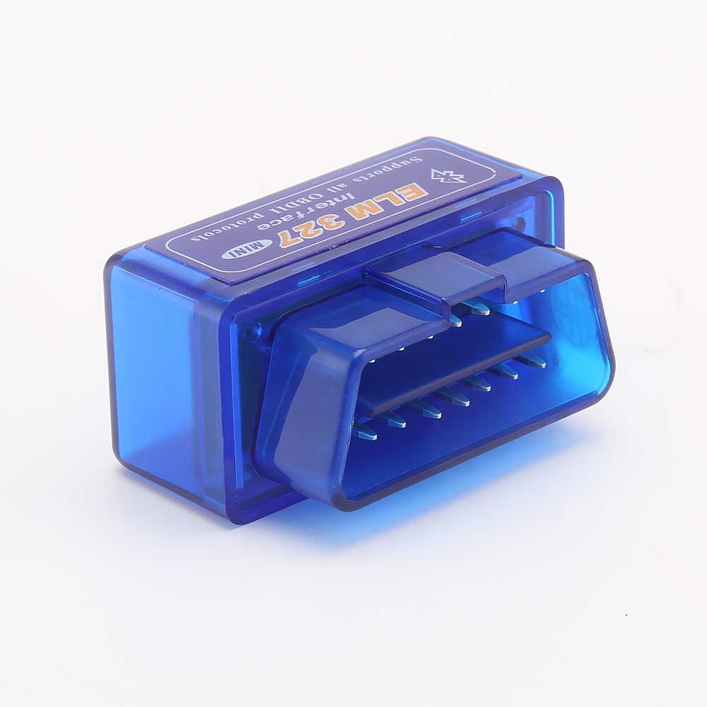 جديد OBD V2.1 V1.5 mini ELM327 OBD2 بلوتوث السيارات الماسح OBDII 2 سيارة الدردار 327 تستر أداة تشخيصية لنظام أندرويد ويندوز سيمبيان