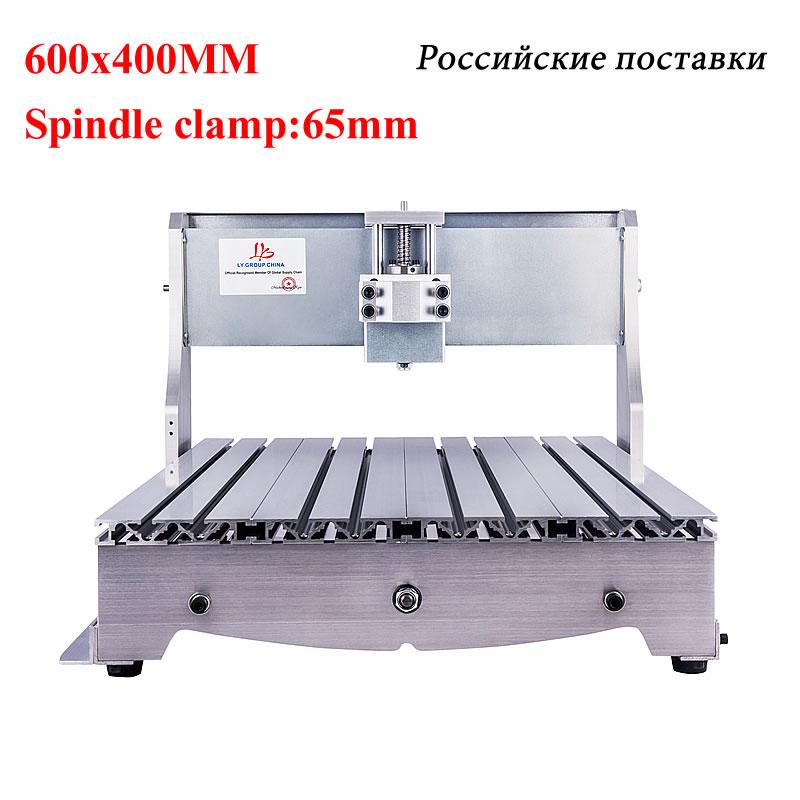 YOO CNC 6040 3040 cadre vis à billes CNC routeur graveur cadre pour bricolage CNC 6040 4030 fraiseuse gravure machine
