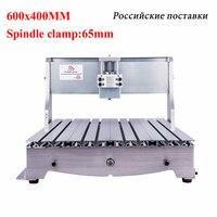 YOOCNC 6040 3040 frame ball screw cnc router engraver frame for diy cnc 6040 4030 milling engraving machine