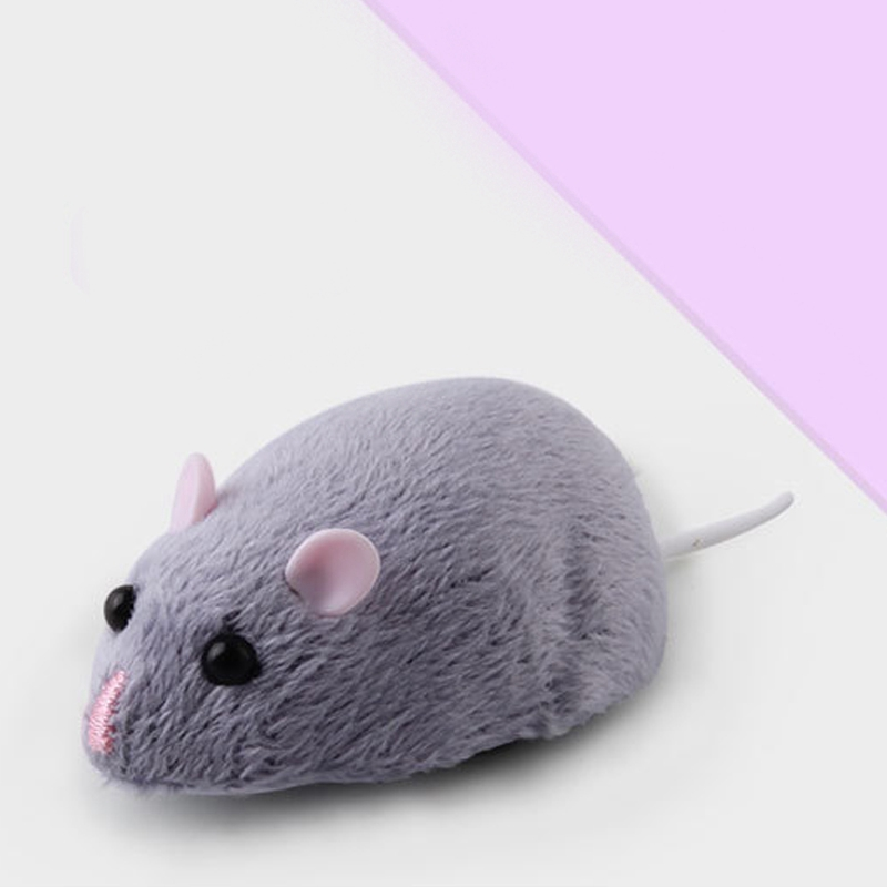 Electric Mouse Simulation Infrared Remote Control Mouse Model Toy Suitable For Kittens,Puppies And Child