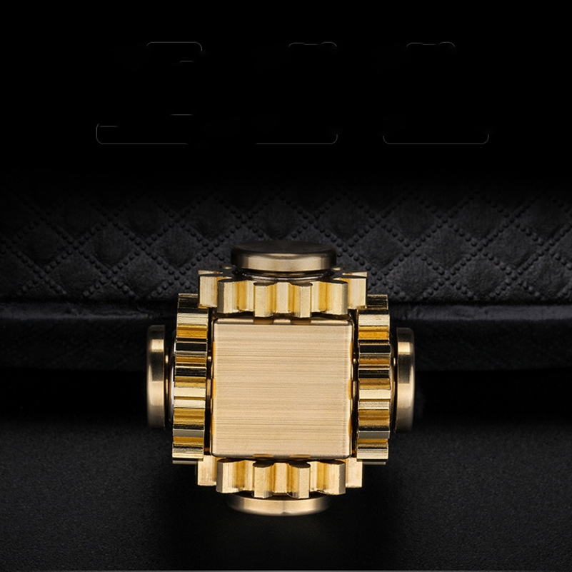 Fidget Spinner Cube Gyro-Gear Edc Toys Decompression Fingertip Adult Mechanical-Gyro img3