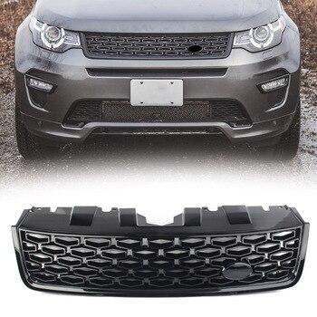 Rejilla frontal para el coche, rejilla superior ABS para Land Rover discotion Sport, versión L550 LR066143 2015 2016 2017 2018 DSB con logo