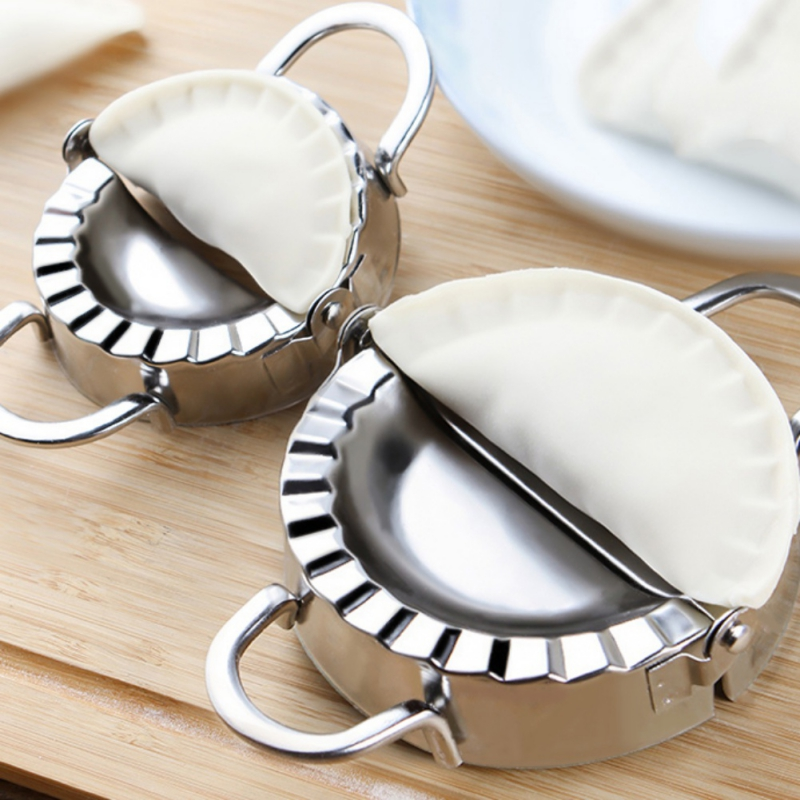Eco-Friendly Pastry Tools Stainless Steel Dumpling Maker Wrapper Pastry Tools