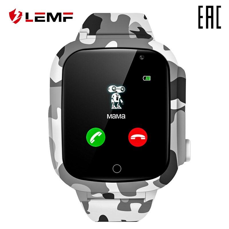 Relojes LEMFO reloj inteligente LEC2 en ruso para niños [entrega desde Rusia]