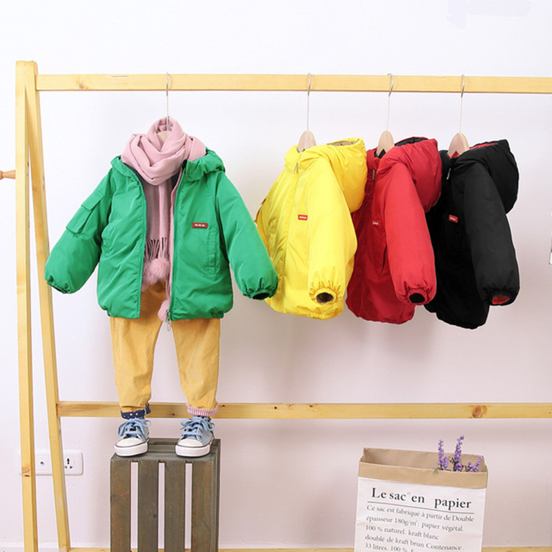 Boys Jackets Children Hooded Outerwear Autumn Girls Warm Jacket Children Clothing Baby Outerwear Fashion Kids Zipper Coat Jacket 6