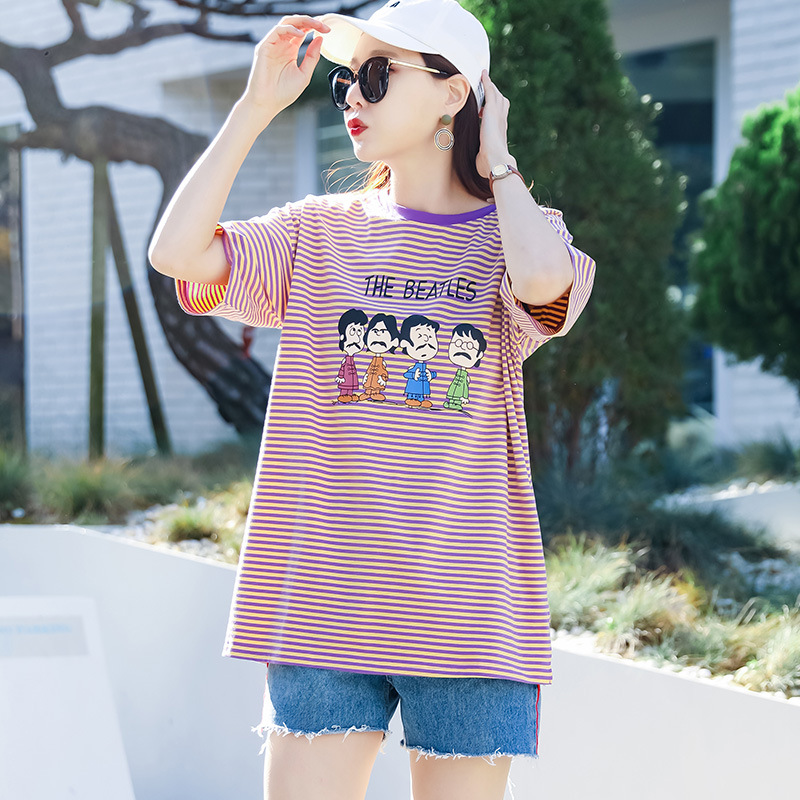 Свободная летняя одежда свободного покроя в стиле бойфренд