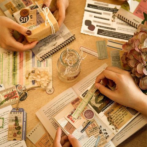 8 pacotes lote fim de semana pictorial serie papelaria adesivo criativo decoracao diy papel
