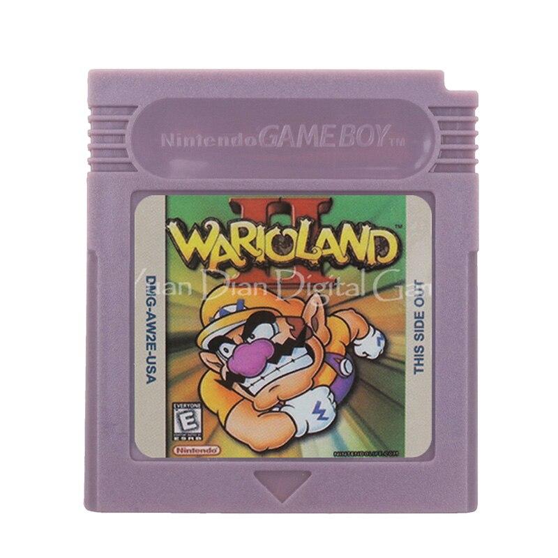 For Nintendo GBC Video Game Cartridge Console Card Wari Land 2 English Language Version 1