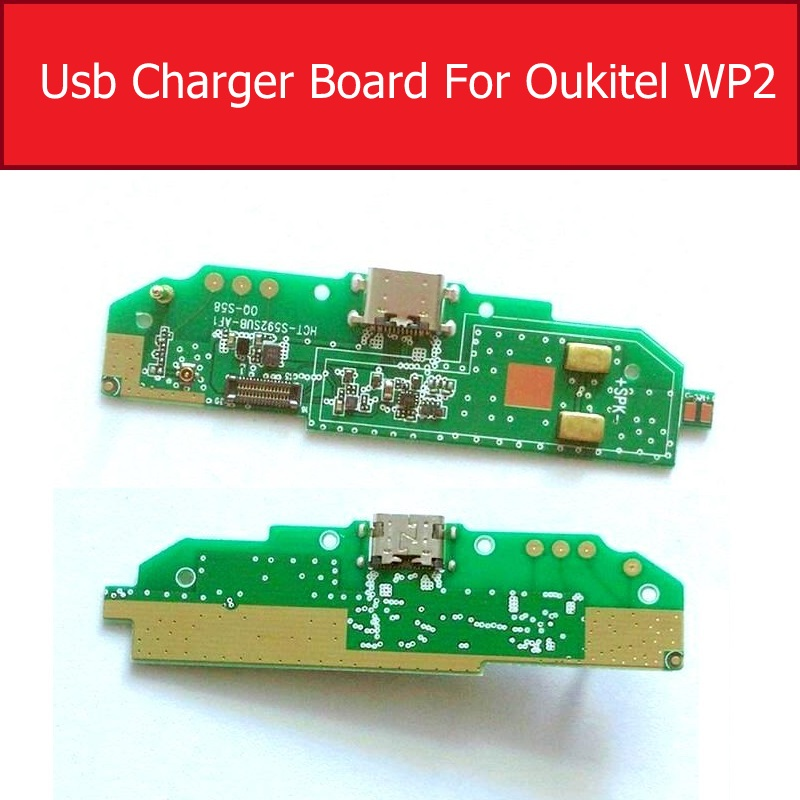 Microphone & USB Charging Jack Dock Board For Oukitel Wp2 Wp 2 USB Charger Port Connector Board Repair Replacement Parts