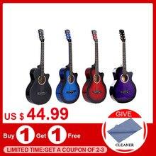 """38 """"الغيتار الصوتية الشعبية 6 سلسلة الغيتار للمبتدئين الغيتار الطلاب هدية"""