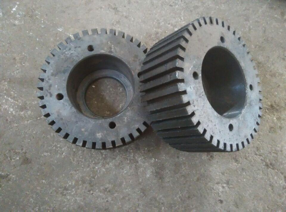 Two Roller Shells Of KL200B KL200C Flat Die Pellet Mill Machine Pelletizer