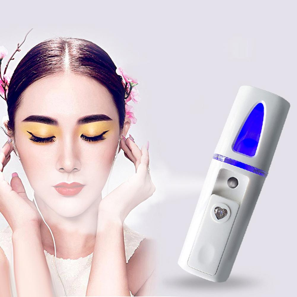 Portable Nanomist Hydrating Beauty USB Rechargeable Facial Humidifier Steamer