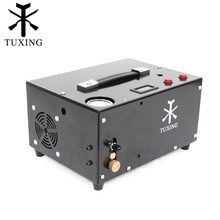 TXET061 4500psi 300bar 12V PCP Air Compressor High Pressure Pump Compressor for Pneumatic Airgun PCP Air Rifle Inflator