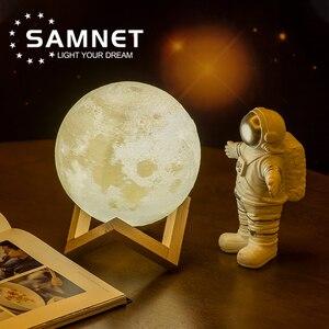 2021 Прямая поставка, 3D печать, лампа в виде Луны, светодиодный ночник, как Галактика, лампа для Рождественского украшения в качестве детского подарка, пульт дистанционного управления