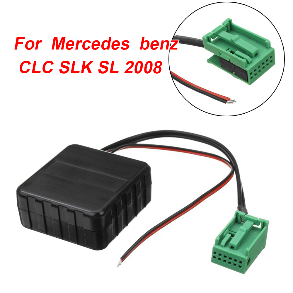 Car bluetooth Module Cable Audio Adapter For Mercedes CLC SLK SL 2008 Comand NTG