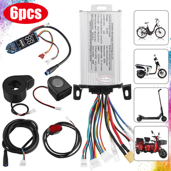 6PCS DC 36V 350W Motor Controller Brushless DC Motor Regulator Speed Controller For Xiaomi Electric Bicycle E-bike Scooter