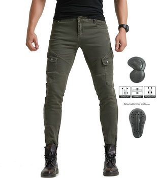 2019 Kevlar Motorcycle Riding Jeans Motorbike Racing Pants Biker Jeans Hockey Knight Trousers With 4 X CE Upgrade Knee Hip Pads