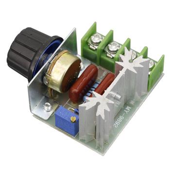 AC 220V 2000W Regulator napięcia Scr ściemniacze ściemniacze Regulator prędkości silnika termostat Regulator napięcia tanie i dobre opinie Silnik prądu przemiennego NONE CN (pochodzenie) C01FC5100001 50-220V