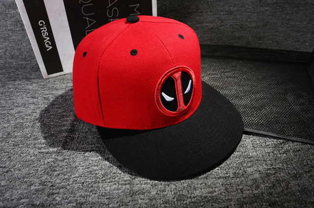 Anime Deadpool Embroidery Snapback 6