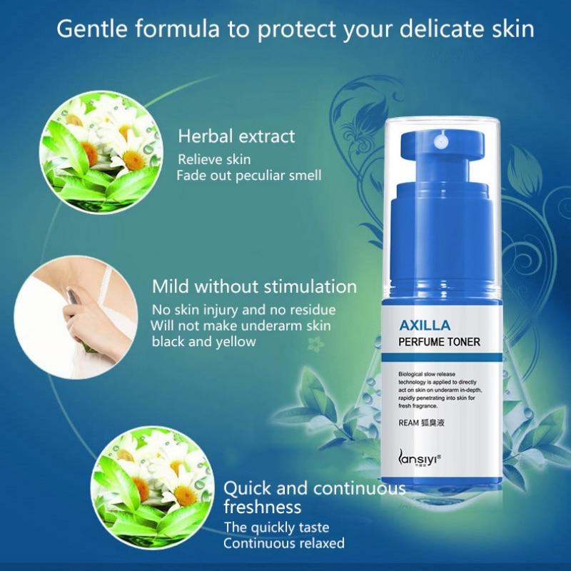 New Sweat Body Odor Removal Natural Underarm Odor Removal Deodorant Water Deodorant Antiperspirants Spray 30ml 2