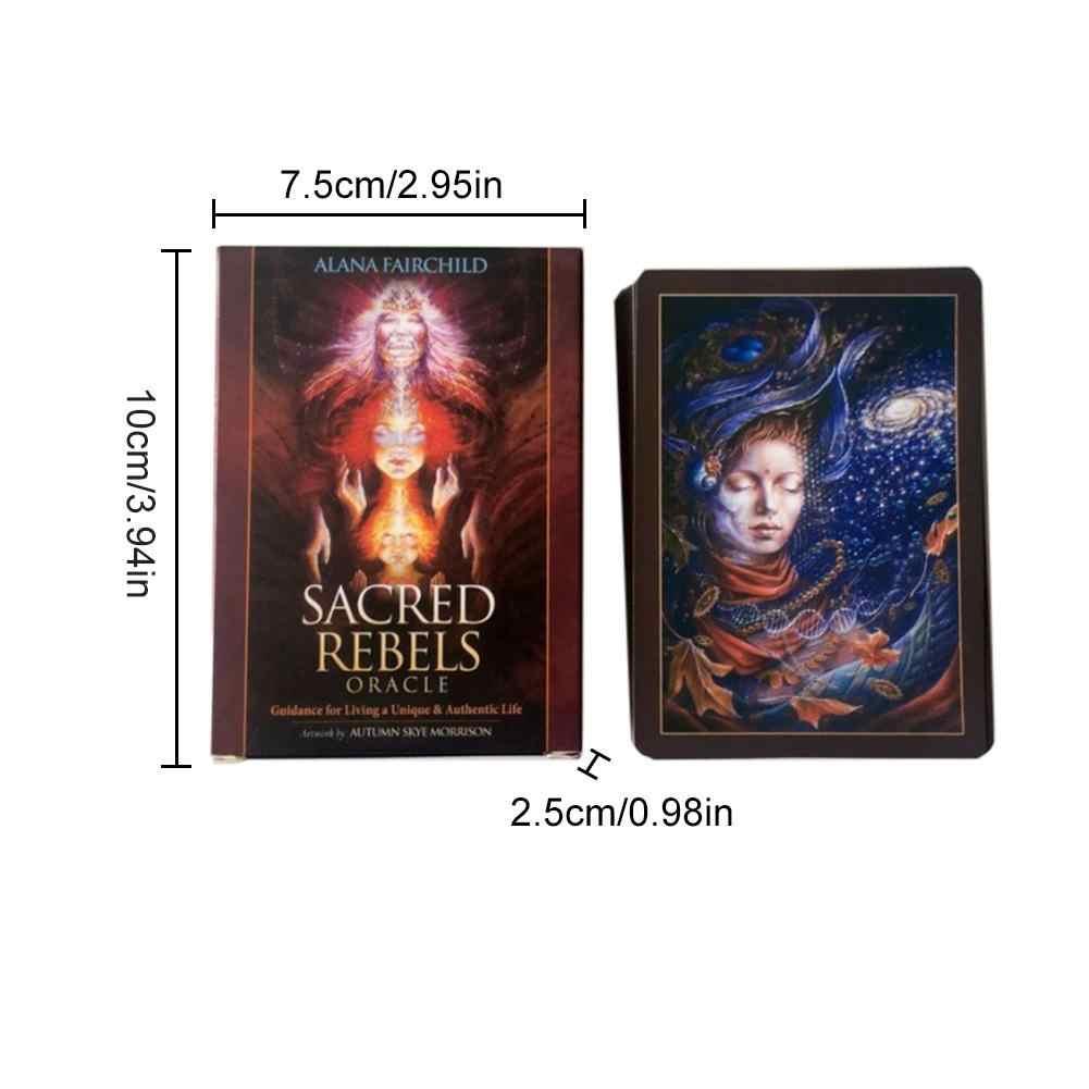 45 Lenzuola Sacro Rebel Oracolo Tarocchi Carte Inglese Completa Versione Gioco Da Tavolo Carte di Supporto Dropshipping All'ingrosso Nave Veloce